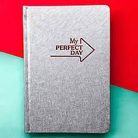 Планер Мотивирующий  My perfect day LifeFLUX А5 Серебро русский язык