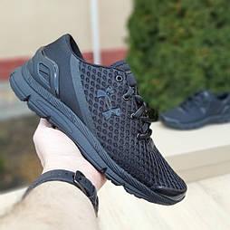 Мужские кроссовки Under Armour Speedform Gemini черные. Живое фото. Реплика