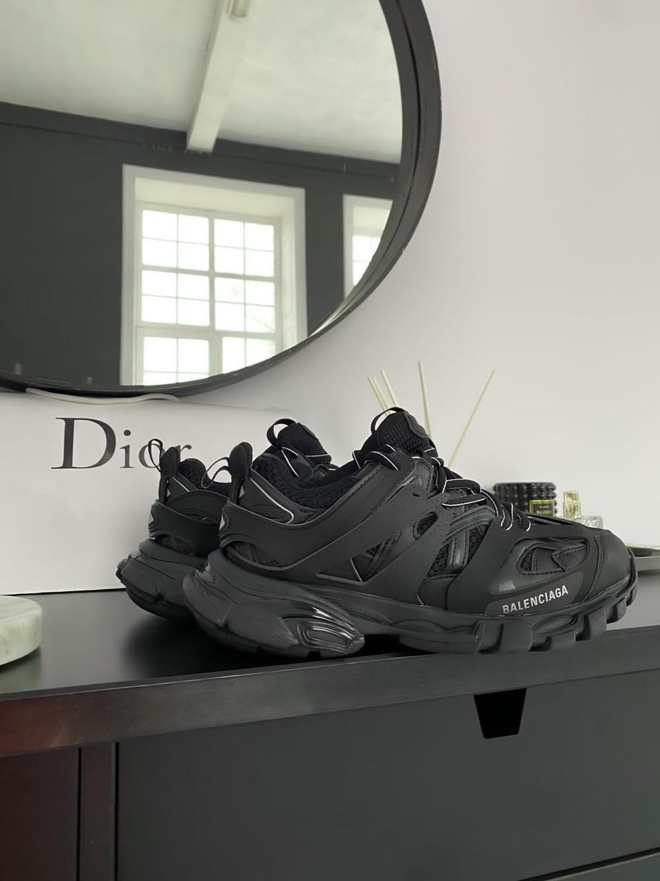 Жіночі кросівки Balenciaga Track Black (Баленсіага)