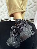 Жіночі кросівки Balenciaga Track Black (Баленсіага), фото 3