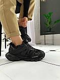 Жіночі кросівки Balenciaga Track Black (Баленсіага), фото 4