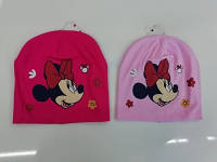 Шапки для девочек оптом, Disney, 52-54 рр.,арт. MIN-НАT-036