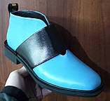 Ботинки демисезонные на низком каблуке из натуральной кожи от производителя модель БФ230-5, фото 2