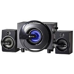 Акустическая система Golden Field Q8 сабвуфер 2.1 с регуляторами звука Bluetooth 1490-3060, КОД: 1391372