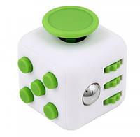Игрушка Антистресс Moltis Fidget Cube White-Green (0133)