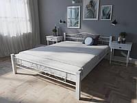Кровать MELBI Лара Люкс Вуд Двуспальная  160200 см Белый КМ-015-02-6бел, КОД: 1397730