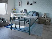 Кровать MELBI Принцесса Детская 80200 см Бирюзовый КМ-013-01-2бир, КОД: 1402968