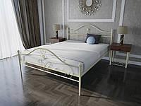 Кровать MELBI Патриция Двуспальная 160200 см Бежевый КМ-002-02-6беж, КОД: 1429132