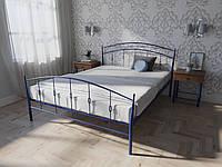 Кровать MELBI Летиция Двуспальная 160190 см Ультрамарин КМ-007-01-9уль, КОД: 1456397