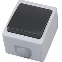 Выключатель накладной проходной ATOM ІР54  1