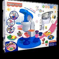 Игровой набор Magic Dough. большое мороженное 8 баночек пластилина Разноцветный hubber-237, КОД: 1160198