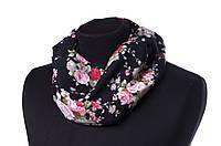 Снуд Bruno Rossi Разноцветный SZ flowers big-black, КОД: 1469361