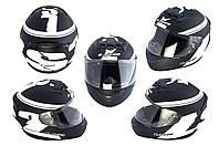 Мотошлем, Мотоциклетный шлем Интеграл (full-face) (mod:FF352) (Размер:XXL, черный) LS-2
