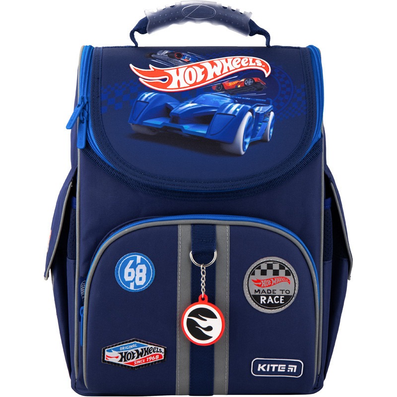 Ранець ортопедичний каркасний KITE Education Hot Wheels 501-2