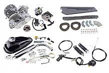 Веломотор, Ф (F) 50, Ф (F) 80, Мотор на велосипед, Двигатель (В сборе)  на велосипед, Дырчик (в сборе) 80 см³