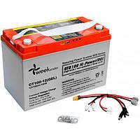 Гелевый аккумулятор с дисплеем и контроллером Weekender OTD100-12, КОД: 1244480