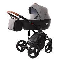 Детская коляска 2 в 1 Tako Junama Modena 03 Серая с черным 13-JM03, КОД: 287216
