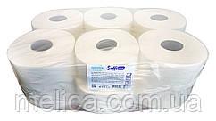 Туалетная бумага Soffi PRO Optimal JTP (2 слоя, 1130 листов) на гильзе белая - 12 рулонов