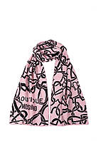 Женский шарф Moschino Boutique 30622 Пудровый 2900056543019, КОД: 1452764
