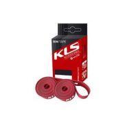 Ободная лента KLS 24x14 AV Красный (пара)