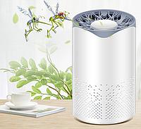 Антимоскитный светильник-ловушка с вентилятором 5Вт, 1А USB