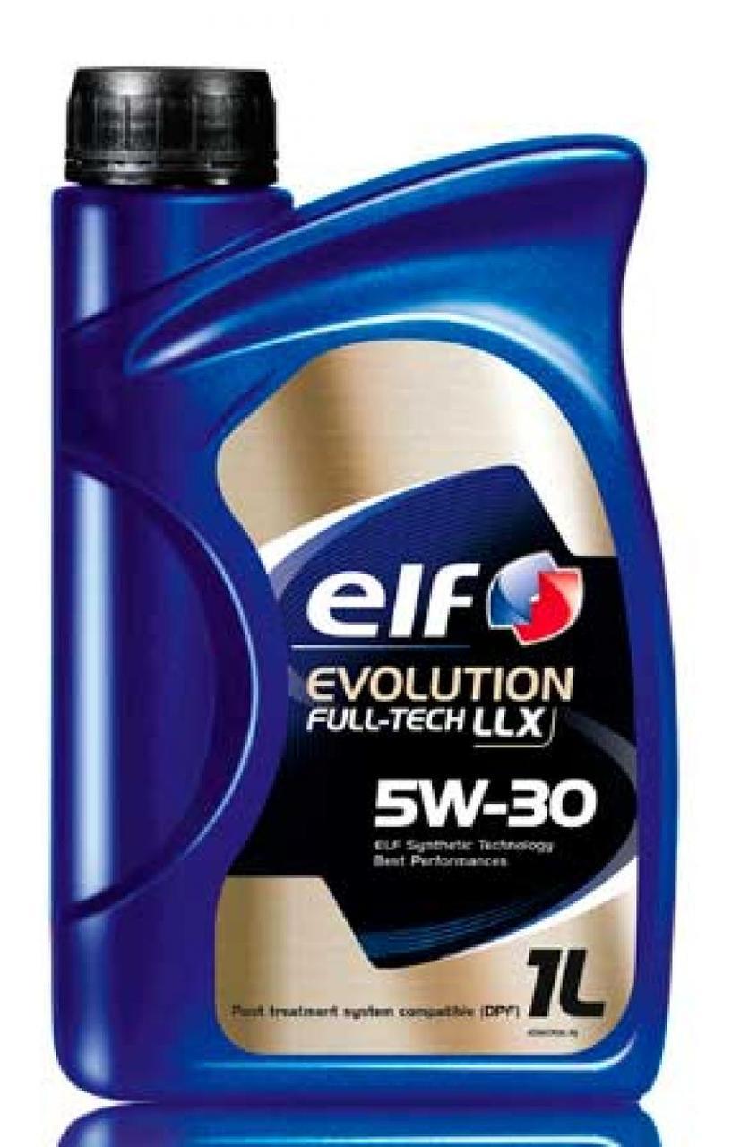 Масло автомобильное, 1л (SAE 5W-30, синтетика, Evolution Full-Tech LLX) ELF (#GPL)
