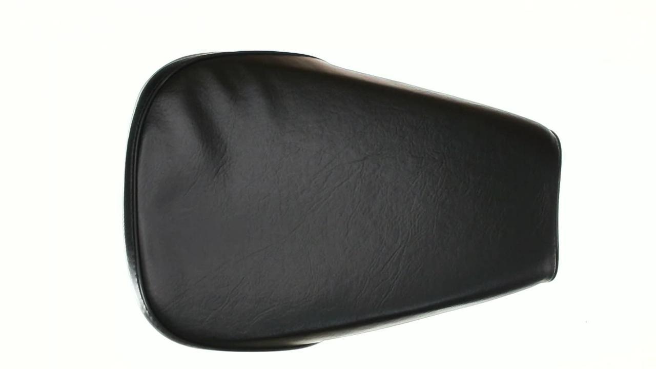 Сиденье на Мопед Дельта (Deltа) (водительское, железная основа) EVO