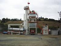 Стационарный асфальтный завод циклического действия Сesan CSP 120 т/час