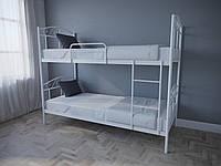 Кровать MELBI Элис Люкс Двухъярусная 90х200 см Белый, КОД: 1389616