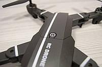 Дрон с WiFi камеройRC 8807,до 20 минут время полета,авто возврат - авто взлет, складной корпус., фото 4