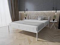 Кровать MELBI Лаура Двуспальная 120х190 см Белый, КОД: 1391328