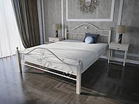 Кровать MELBI Патриция Вуд Двуспальная 160200 см Бежевый КМ-001-02-6беж, КОД: 1405990