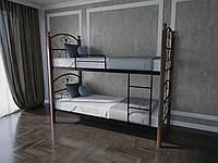 Кровать MELBI Патриция Вуд Двухъярусная 90190 см Коричневый КМ-001-03-9кор, КОД: 1416784