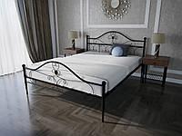 Кровать MELBI Патриция Двуспальная 160200 см Черный КМ-002-02-6чер, КОД: 1429134