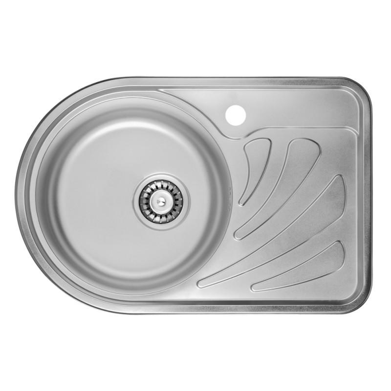 Кухонная мойка ULA 7111 L Satin (ULA7111SAT08L)