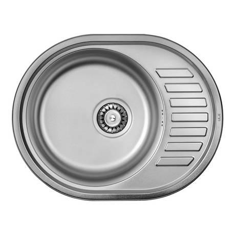 Кухонная мойка ULA 7112 U Satin (ULA7112SAT08), фото 2