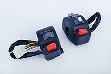Блоки кнопок руля (пара) на Китайский Скутер 4Т 4-х тактный (Gy6) 50 (диск/диск) EVO