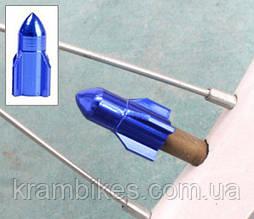 Колпачок на ниппель Ракета Синий