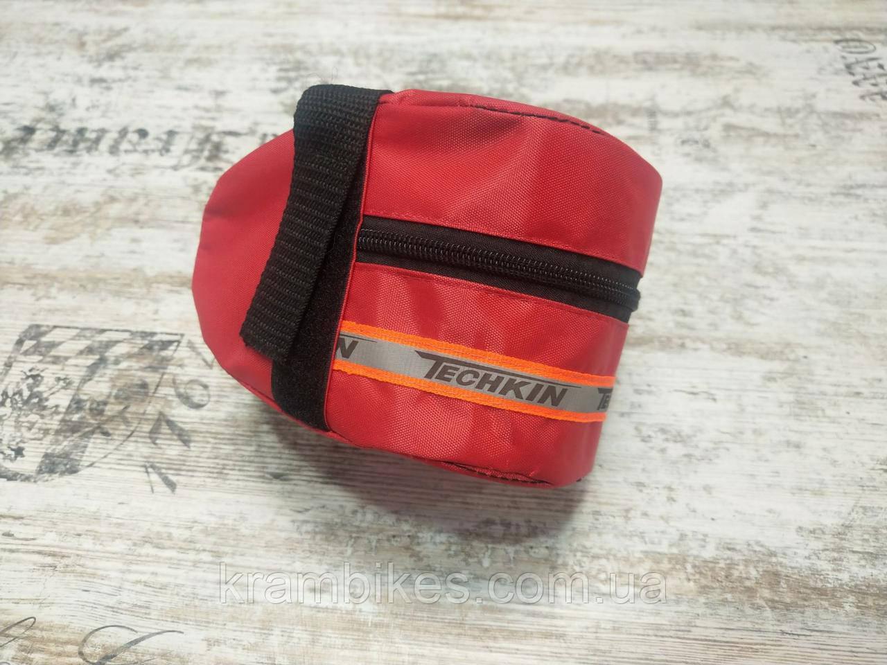 Сумка под седло Techkin Красный