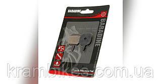 Колодки Disc Baradine - DS-08 organic semi-metal