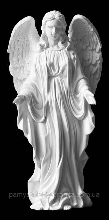 Ангел с искусственного мрамора - 43 см