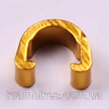 Крепеж гидролинии noname - Алюминий Золото