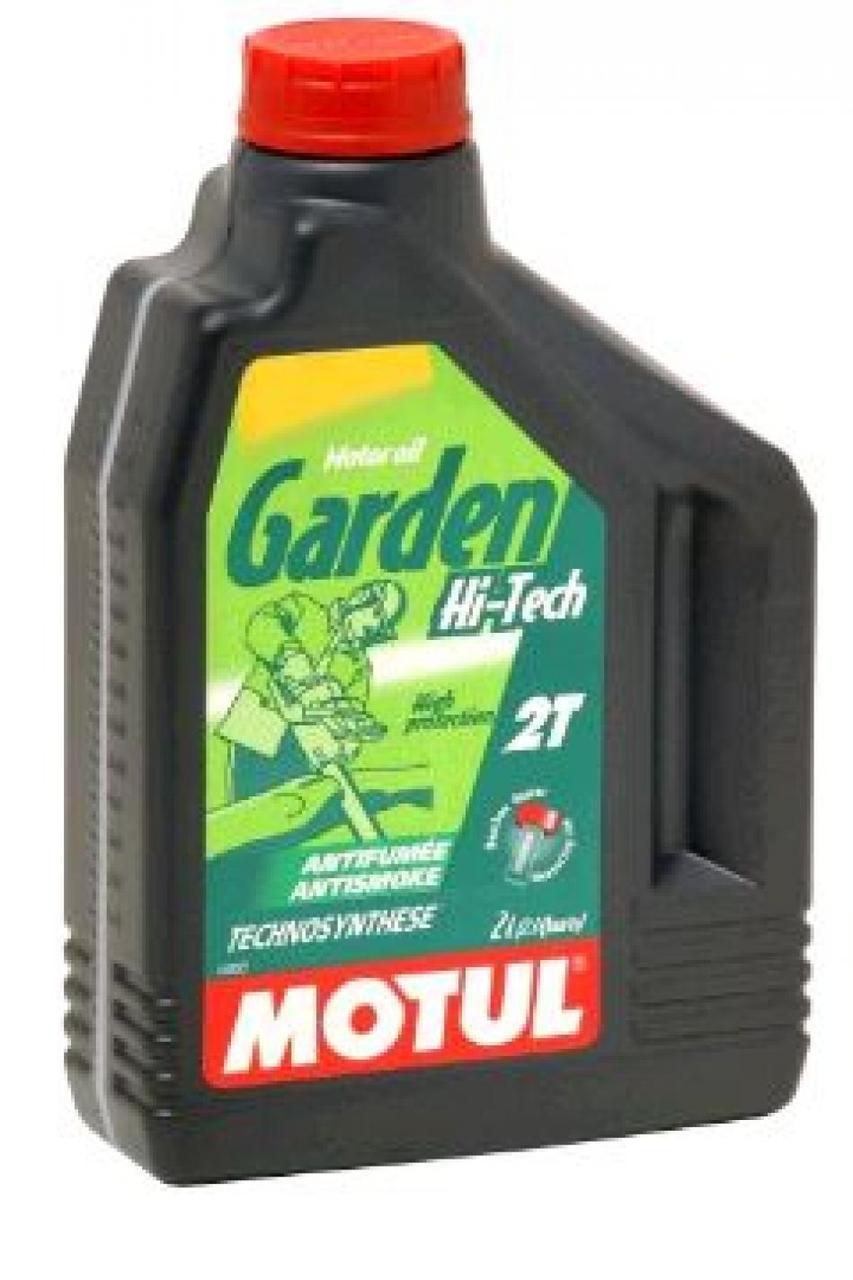 Масло 2Т Двухтактное, 2л (полусинтетика, для садовой техники, HI-TECH, API TC) MOTUL (#101307)