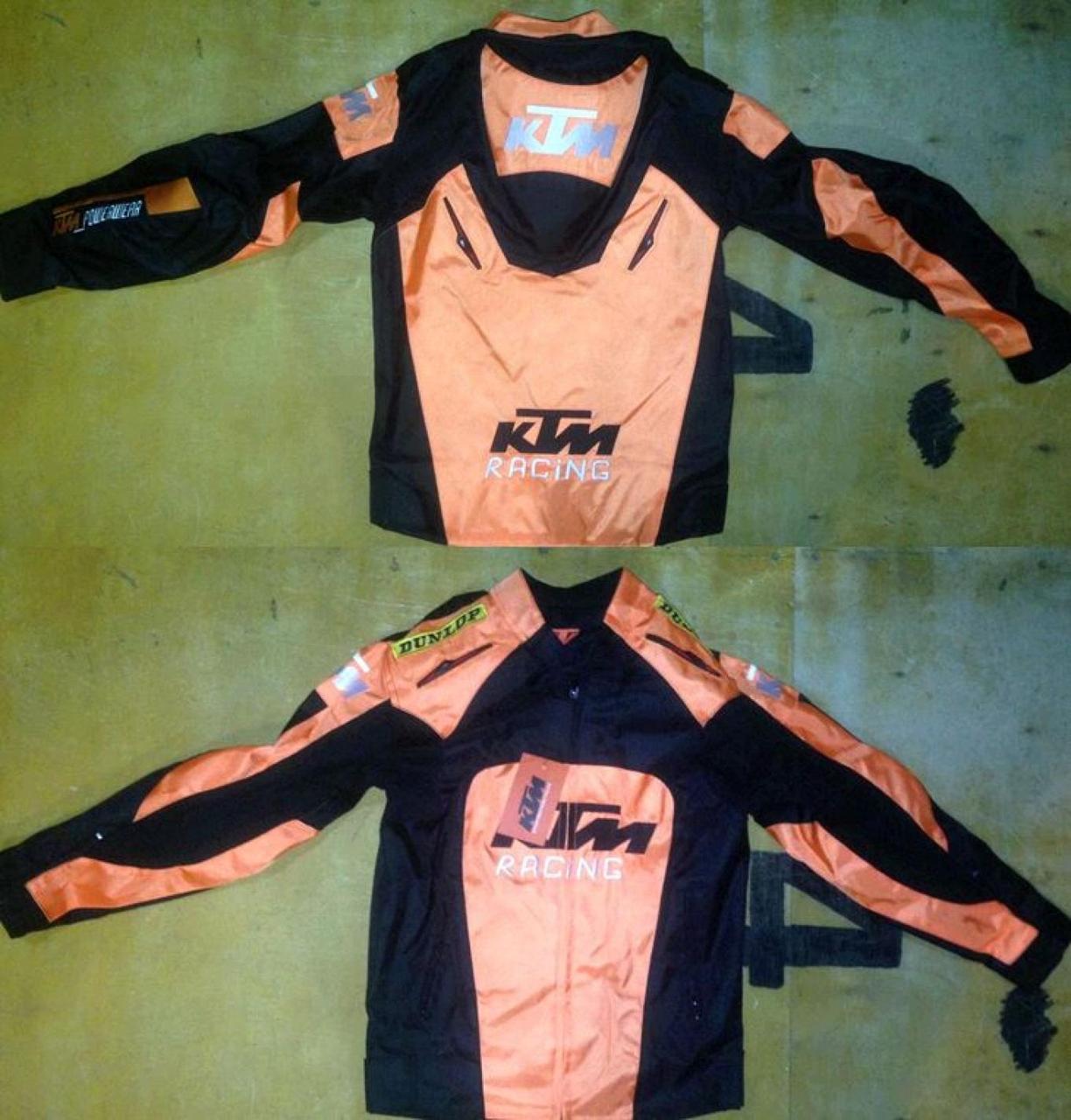 Мотокуртка KTM (текстиль) ( Размер:M, черно-оранжевая)