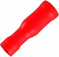Наконечник кабельный соединительный изолированный 0,5-1,5 мм.кв. (мама) красный (100 шт) E.NEXT