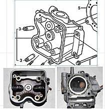 Головка циліндра, головка циліндра Хонда (Honda) СШ 150 (СШ 150 (SH 150)) (гола) (2013+) VV