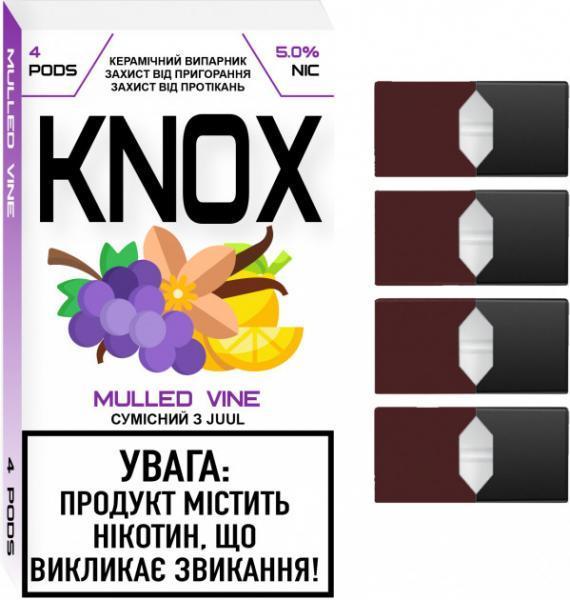 Сменный картридж для Juul KNOX Mulled Vine