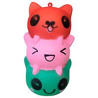 Мягкая игрушка антистресс Сквиши Котики Squishy с запахом Разноцветный tdx0000324, КОД: 296530