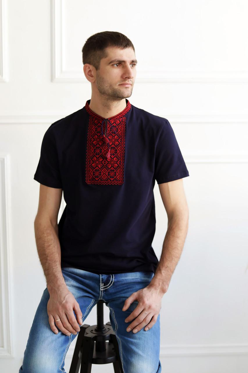 Сучасна вишита чоловіча футболка ЧФ-14