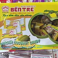 Кокосовые натуральные конфеты Bentre 250г c Дурианом (Вьетнам)